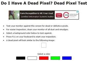 Do I Have A Dead Pixel logo
