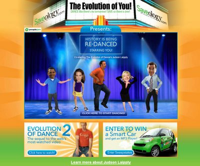 The Evolution of You! logo