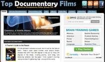 Top documentary films logo